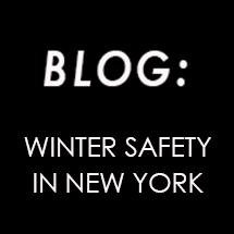 Winter Safety in New York